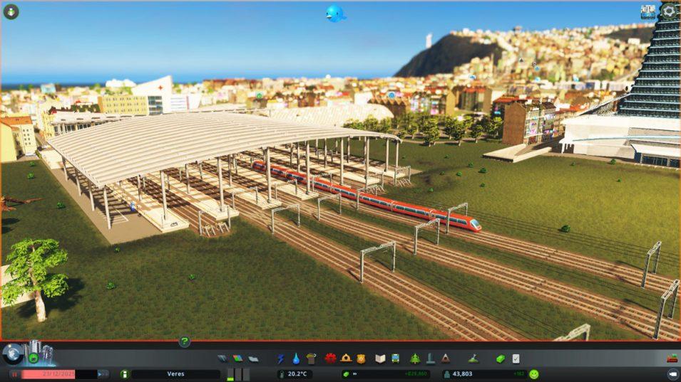 Hauptbahnhof in Mass Transit