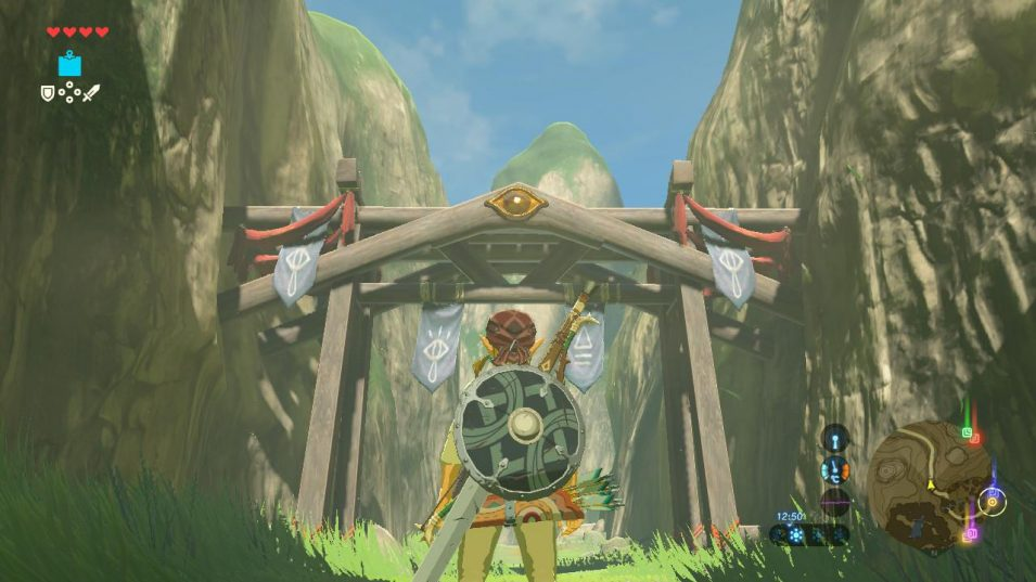 Breath of the Wild - Eingang nach Kakariko
