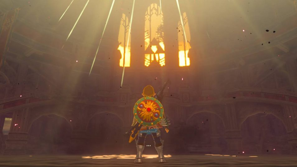 Breath of the Wild - Thronsaal