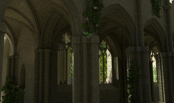 Neues an der Kathedralenruine + Tipp für Glasscherben