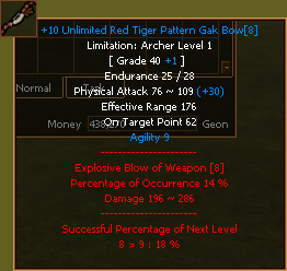 Red Tiger Bow