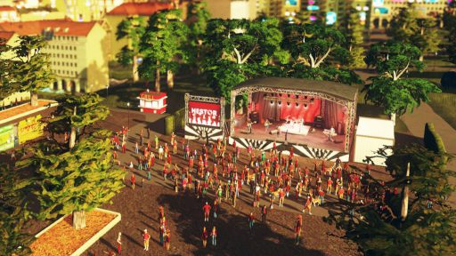 Cities Skylines Concerts Rockkonzert