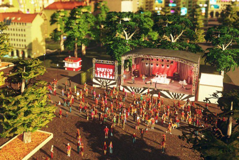 Cities Skylines Concerts Rockkonzert