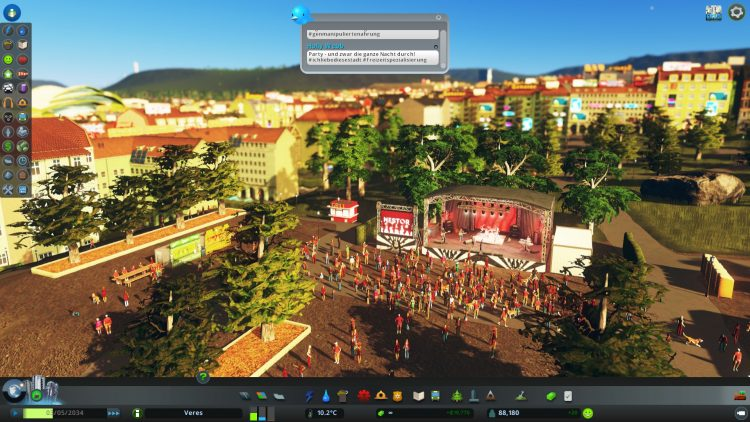 Cities Skylines Concerts - Rockkonzert