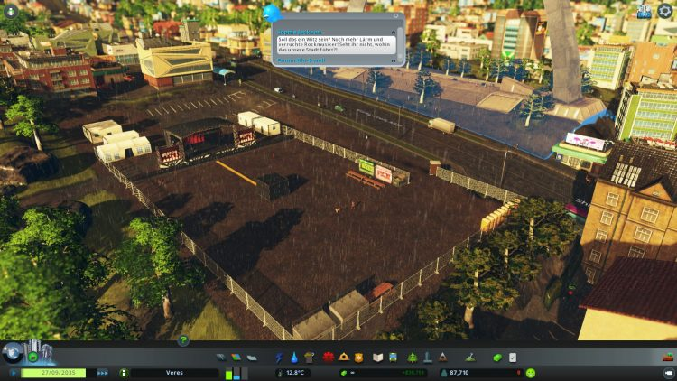 Cities Skylines Concerts | Festivalgelände Stufe 2