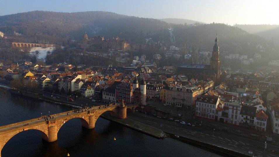 Drohne fliegen in Heidelberg