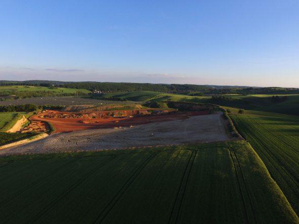 Drohne-Luftbilder