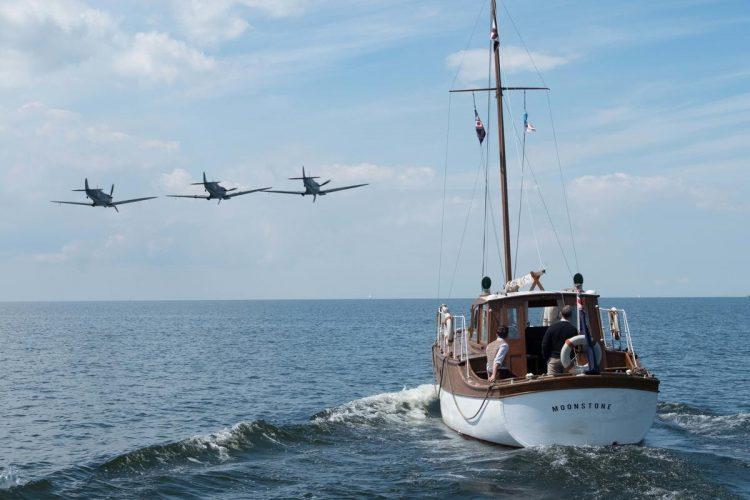 Eine zivile Yacht auf dem Weg nach Dünkirchen