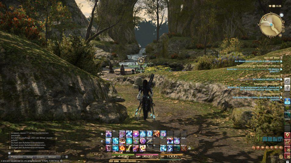 Final Fantasy XIV Gridania