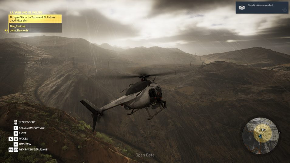 Ghost Recon Wildlands Helicopter
