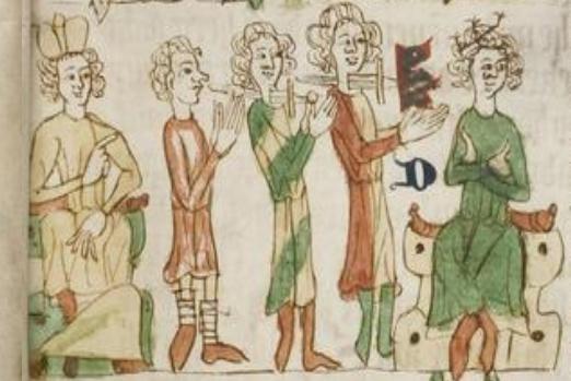 Mittelalter, was macht ihr da? – Freude mit dem Sachsenspiegel
