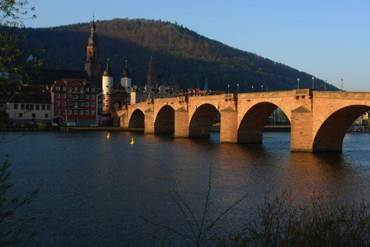 Heidelberger Alte Brücke 9.04.2017