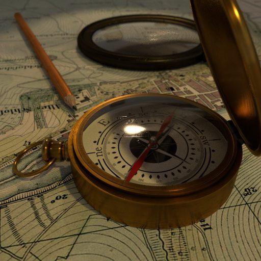3D Kompass