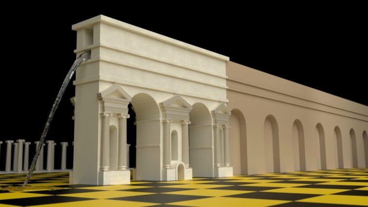 Porta Maggiore 3D