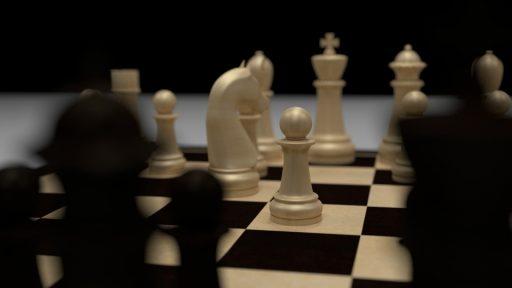 Schachspiel Rendering