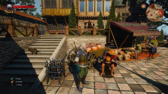 Die belebte Witcher 3-Spielwelt – Jede Menge Screenshots!