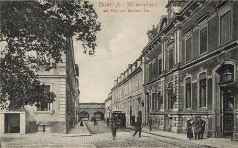 Alte Ansicht Küstrin: Berliner Tor