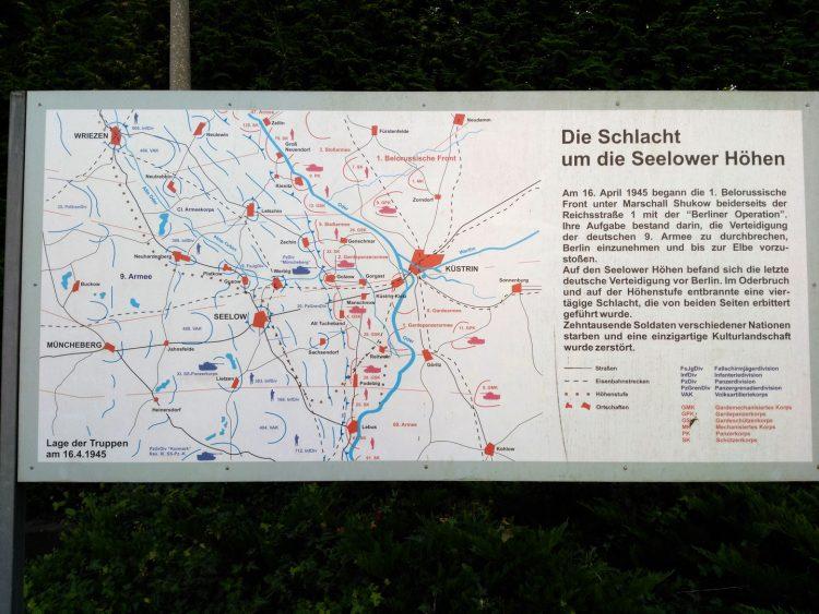 Aufstellung an im Oderbruch am 16.04.1945
