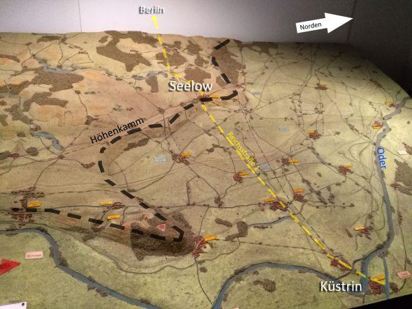 Wettlauf nach Berlin und die Schlacht um die Seelower Höhen 1945
