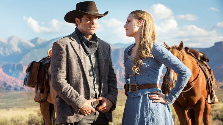 Westworld Dolores und Teddy