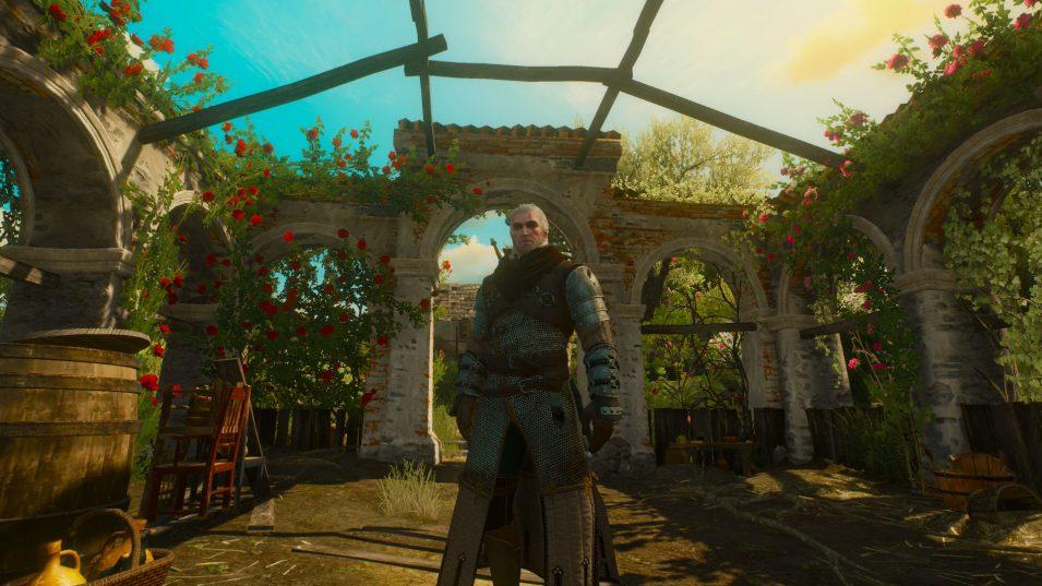Blood and Wine - Geralt unter Rosen