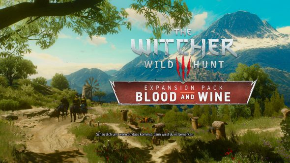 Blood and Wine – Wahnsinns-DLC zu The Witcher 3