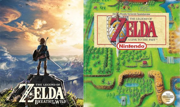 Zelda | Breath of the Wild und A Link to the Past