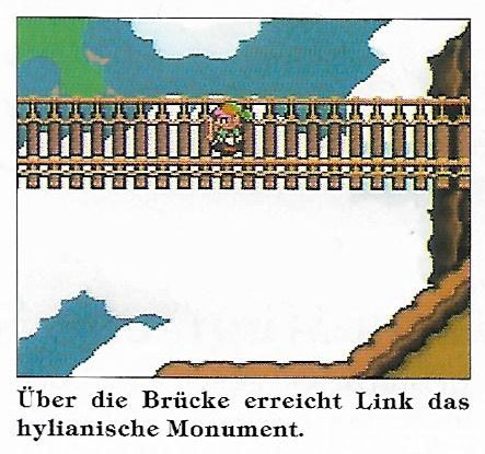 Brücke über den Wolken in A Link to the Past