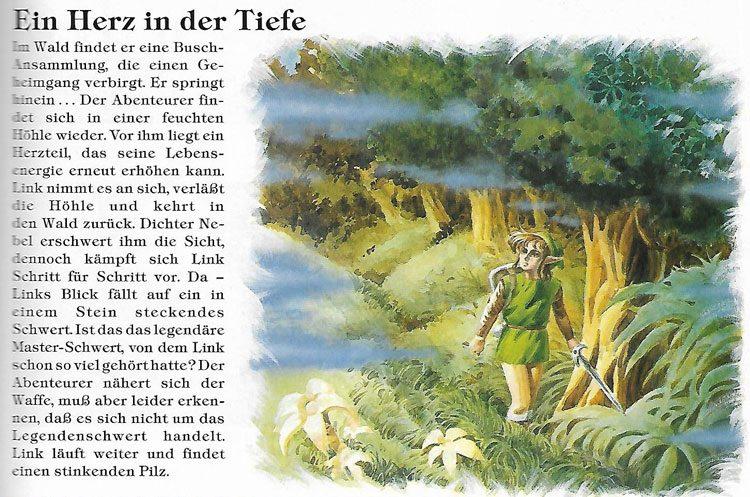 """Verlorene Wälder in A Link to the Past: """".. dichter Nebel erschwert ihm die Sicht.."""""""