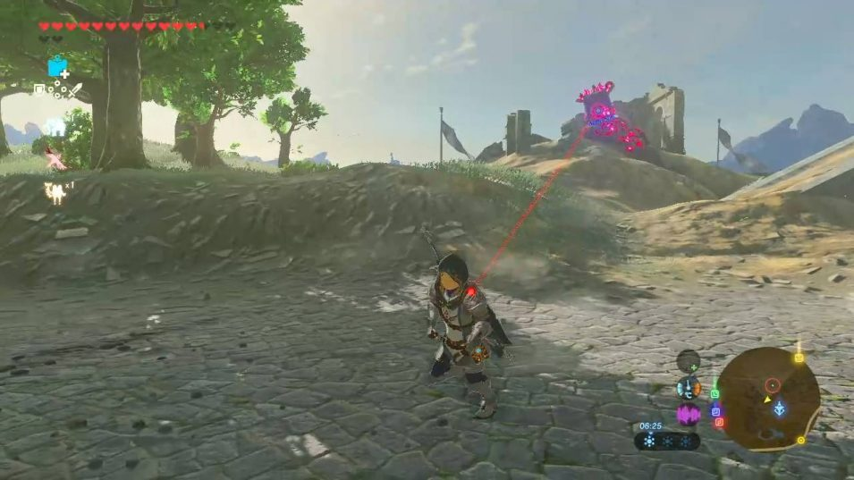 Laser-Statue (Wächter) in Breath of the Wild