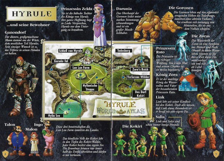 Hyrule in Ocarina of Time
