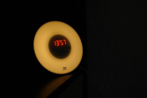 Lichtwecker auf niedrigster Helligkeitsstufe