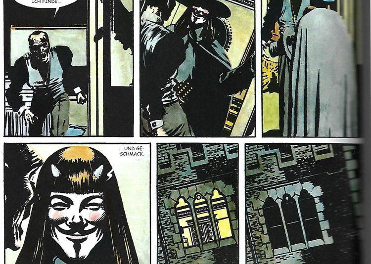 Alan Moore / David Lloyd - V wie Vendetta