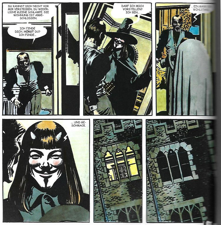 Alan Moore / David Lloyd - V wie Vendetta