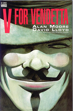 Alan Moore / David Lloyd | V wie Vendetta Cover