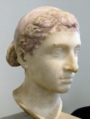 Kleopatra Skulpturkopf