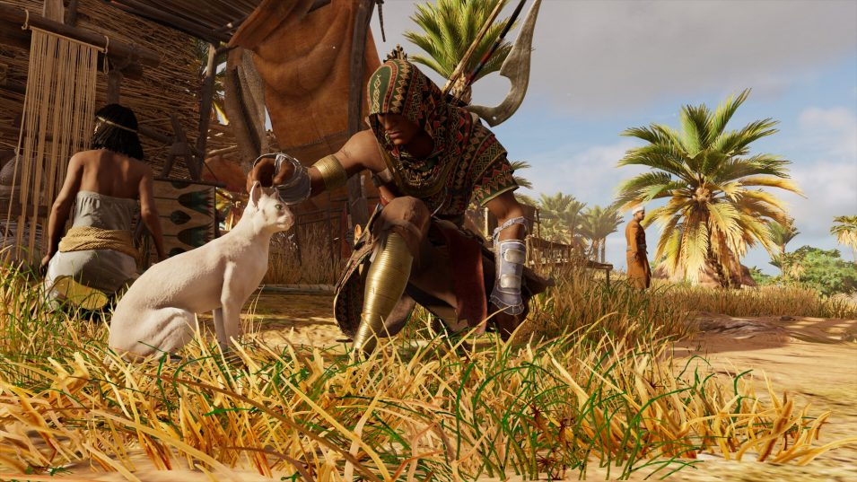 Assassins Creed Origins | Katze