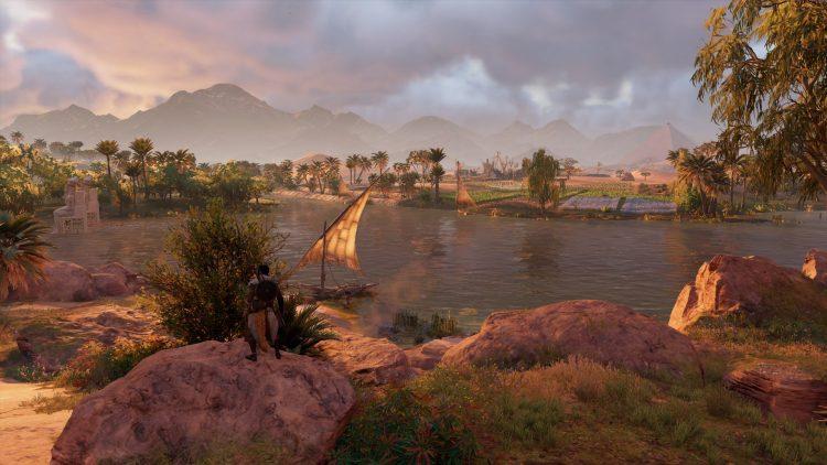 Assassins Creed Origins | Nil am Abend