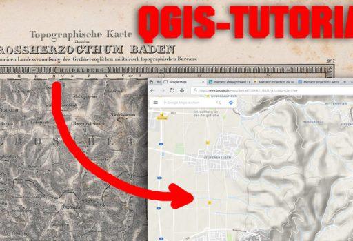 QGIS-Tutorial - Georeferenzieren
