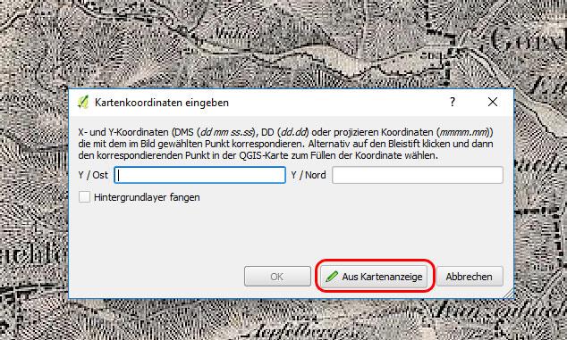 QGIS - Passpunkte setzen