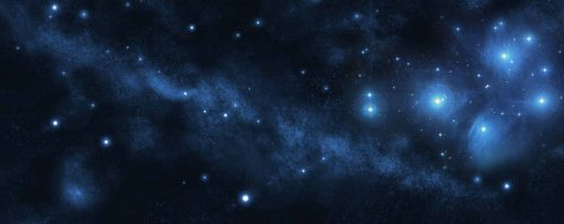 Plejadium-Sternenhintergrund