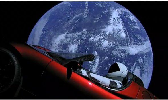 Euphorie über Falcon Heavy, einen Sportwagen und Visionen