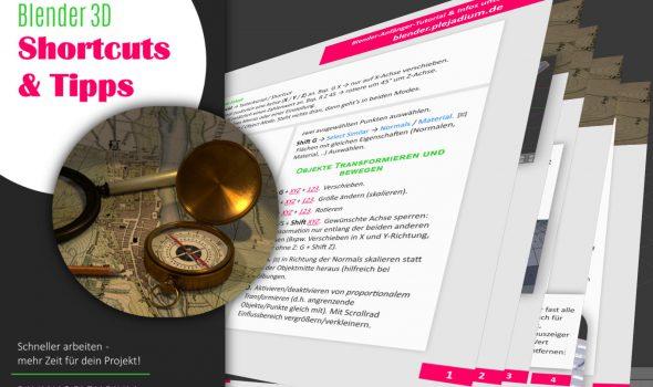 Die große Blender Shortcuts-PDF