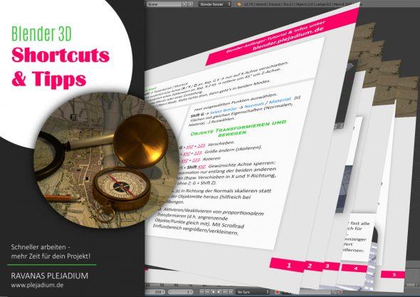 Die große Blender 2.8 Shortcuts-PDF