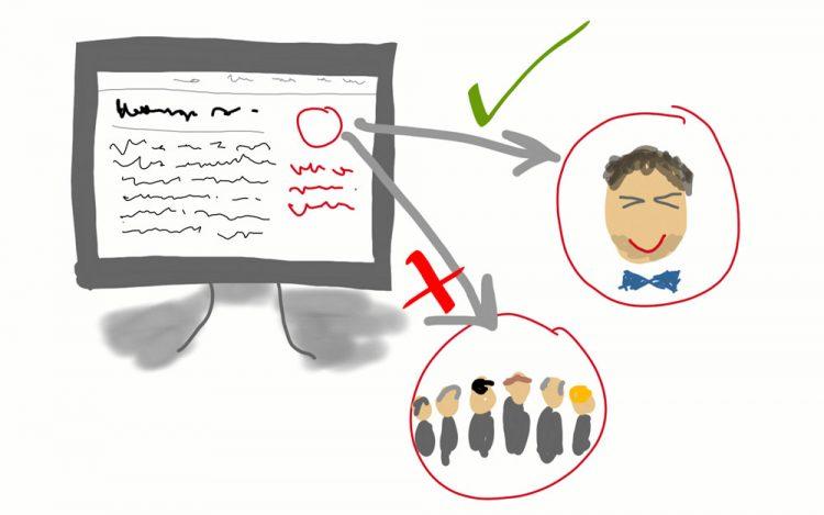 Profilbild und Gruppenprofilbild