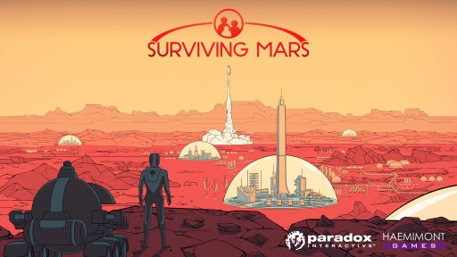 Surviving Mars: Das Cover