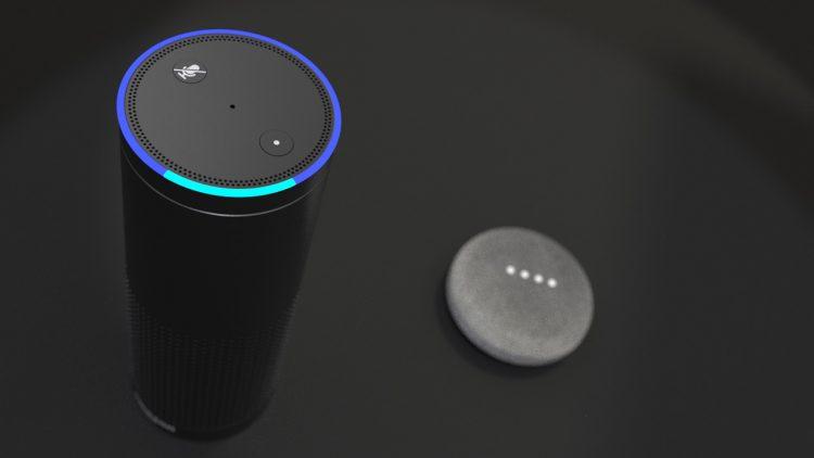 Amazon Echo von oben