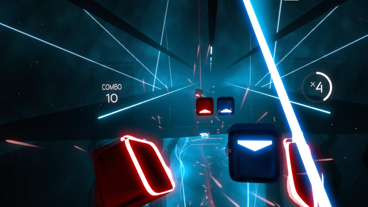 Review] Beat Saber VR - Lichtschwert trifft Guitar Hero :D