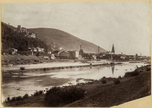 Heidelberg Richtung Westen (vor 1897)