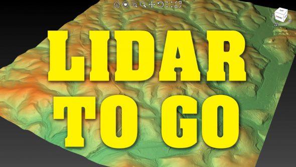 Lidar to go – mit planlauf/TERRAIN